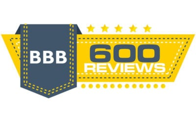 600 BBB Reviews