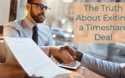 The Truth About Exiting a Timeshare Deal