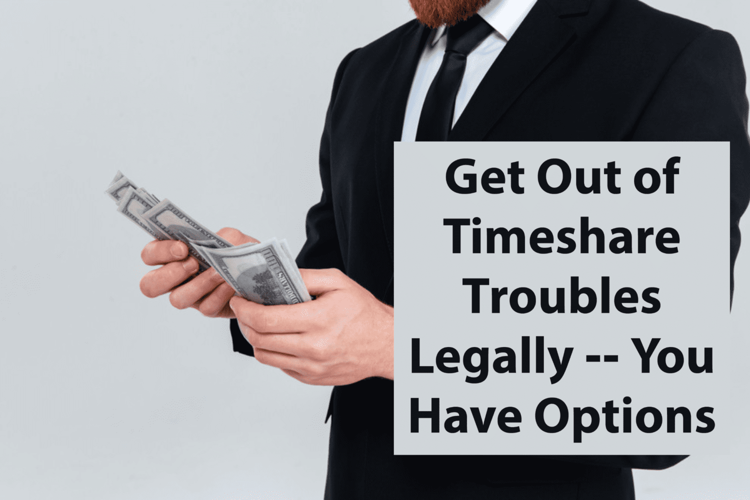 how to get out of a timeshare deal